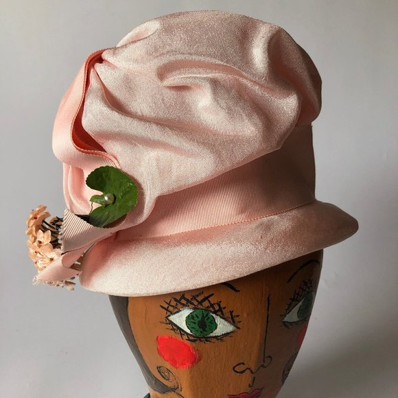 Vintage Union Made Pink Vintage Hat